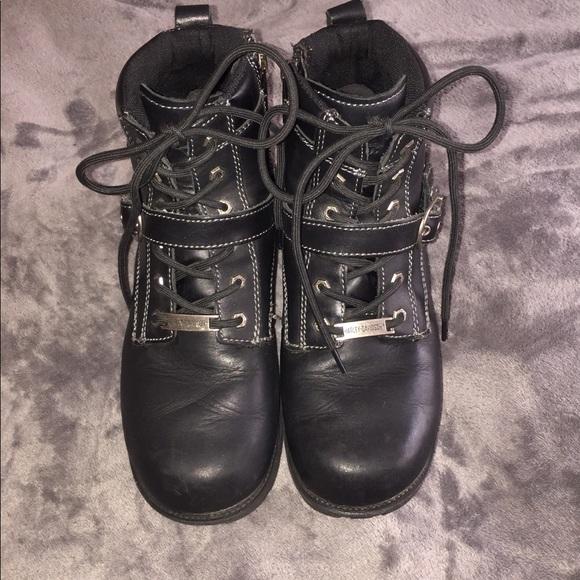 b02670f220a Harley-Davidson Shoes - Harley-Davidson Jocelyn Leather Biker Boot
